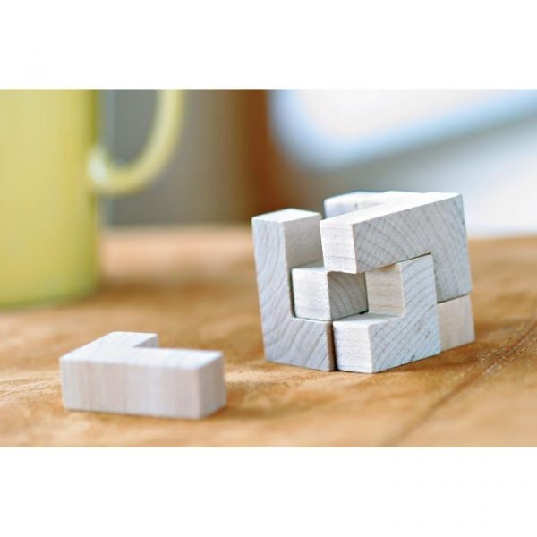 Puzzle écologique en bois durable