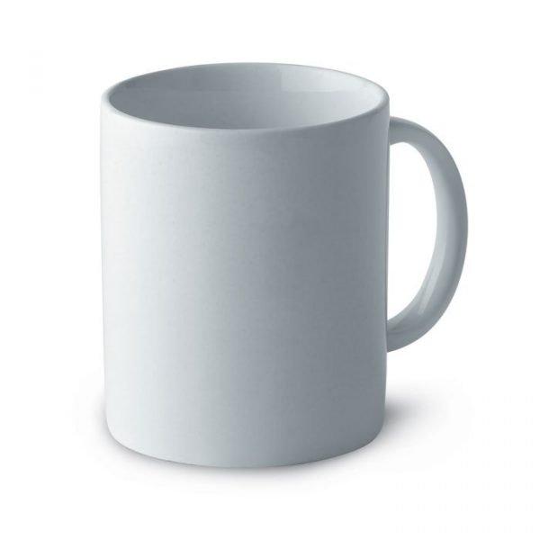 white irish mug with logo