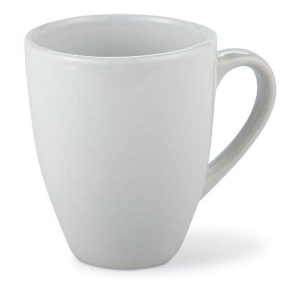 white small branded mug