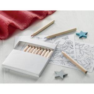 Cahier écologique de dessin et crayons pour adultes
