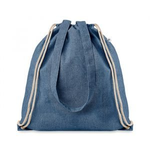 recycled promotional bag in cotton and eco-friendly polyester
