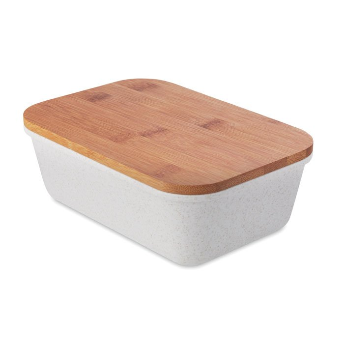 eco-friendly branded bamboo lunch box