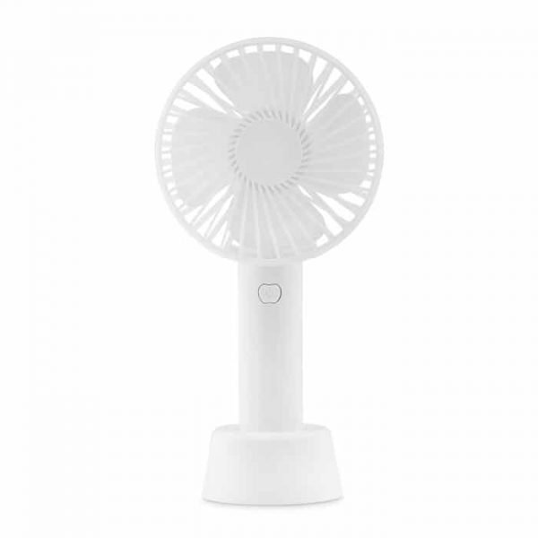promotional white desk fan