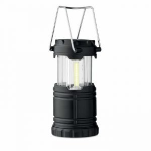 customisable black camping lantern